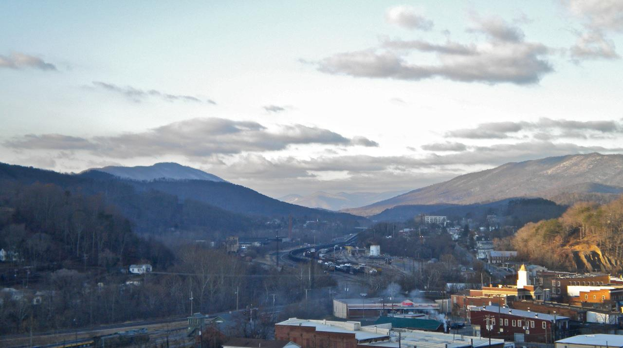 Town of Clifton Forge, VA view
