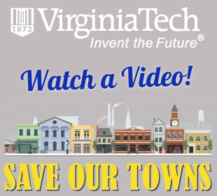 Town of Clifton Forge VA Virginia Tech Save Our Towns