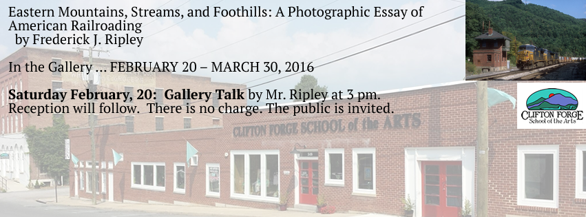 Clifton Forge School of the Arts Gallery Talk Clifton Forge Virginia 24422